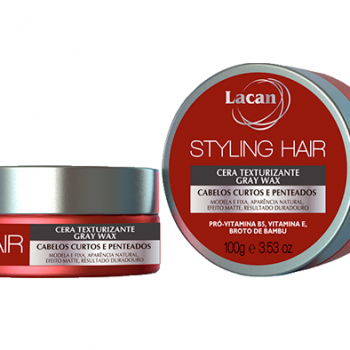 Cera Styling Hair Gray Wax
