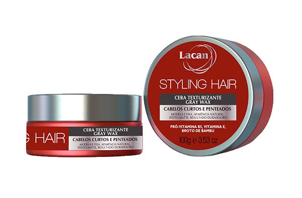 Cera Styling Hair Gray Wax
