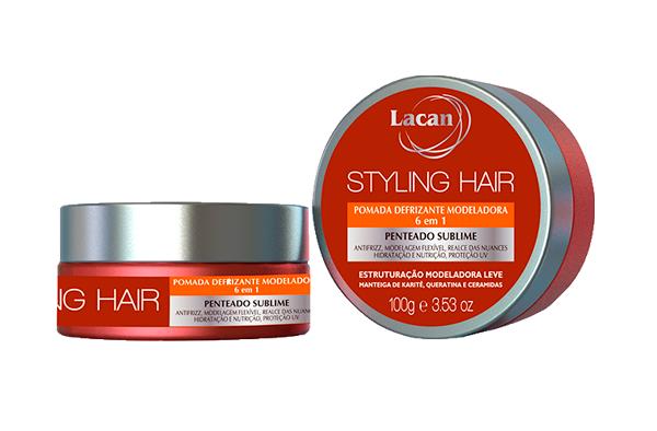 Pomada Styling Hair Defrisante Modeladora 6 em 1